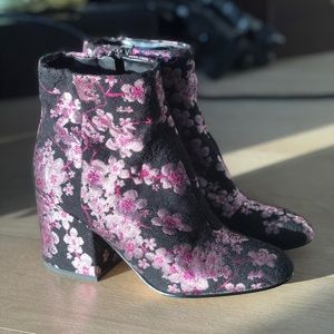 Sam Edelman Cherry Blossom Booties